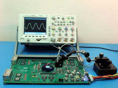 Oscilloscope Probing Demonstration