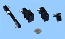 Various adapters of TP50 Easy Positioner